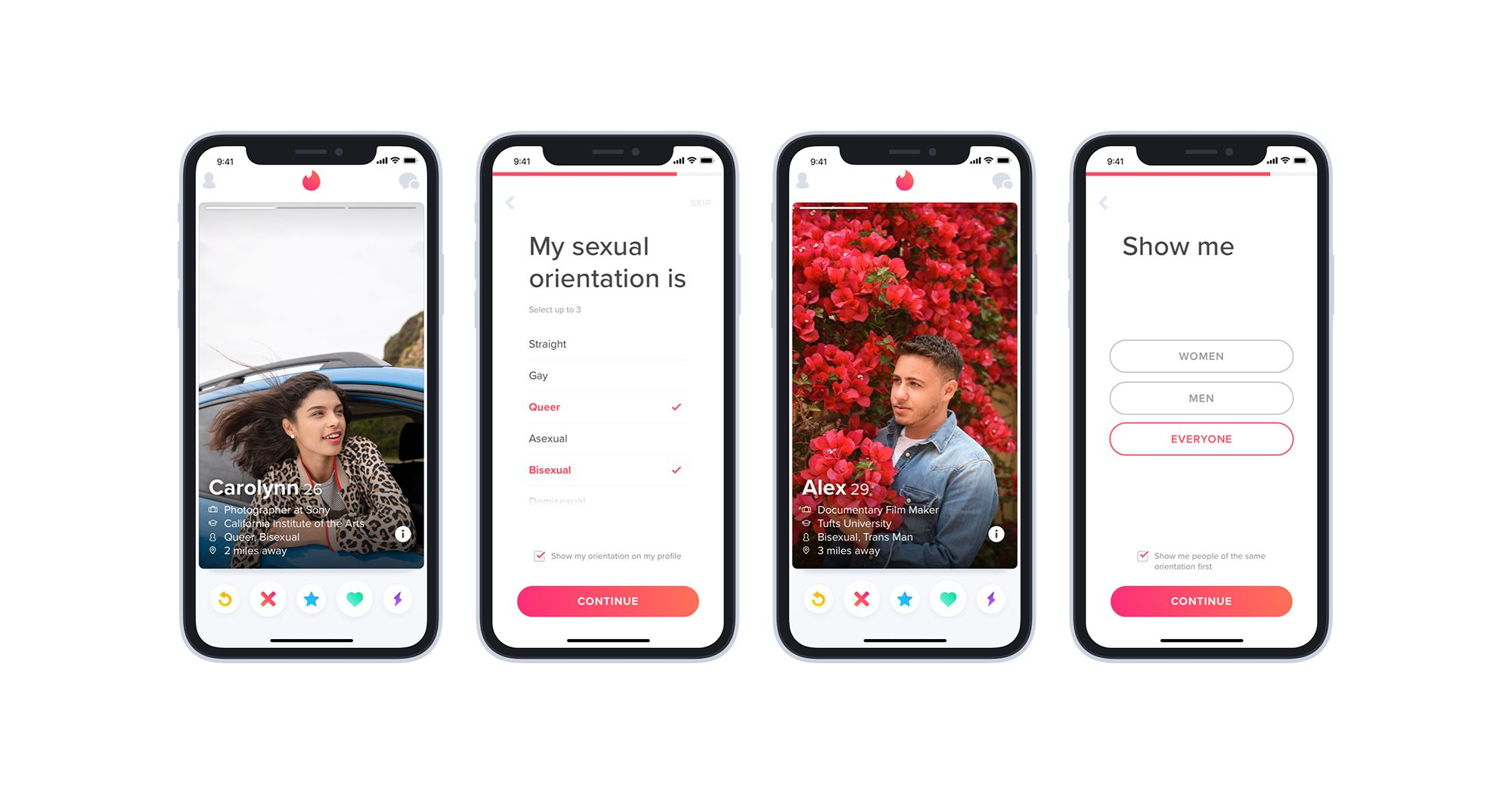 Tinder Finally Added A Sexual Orientation Feature