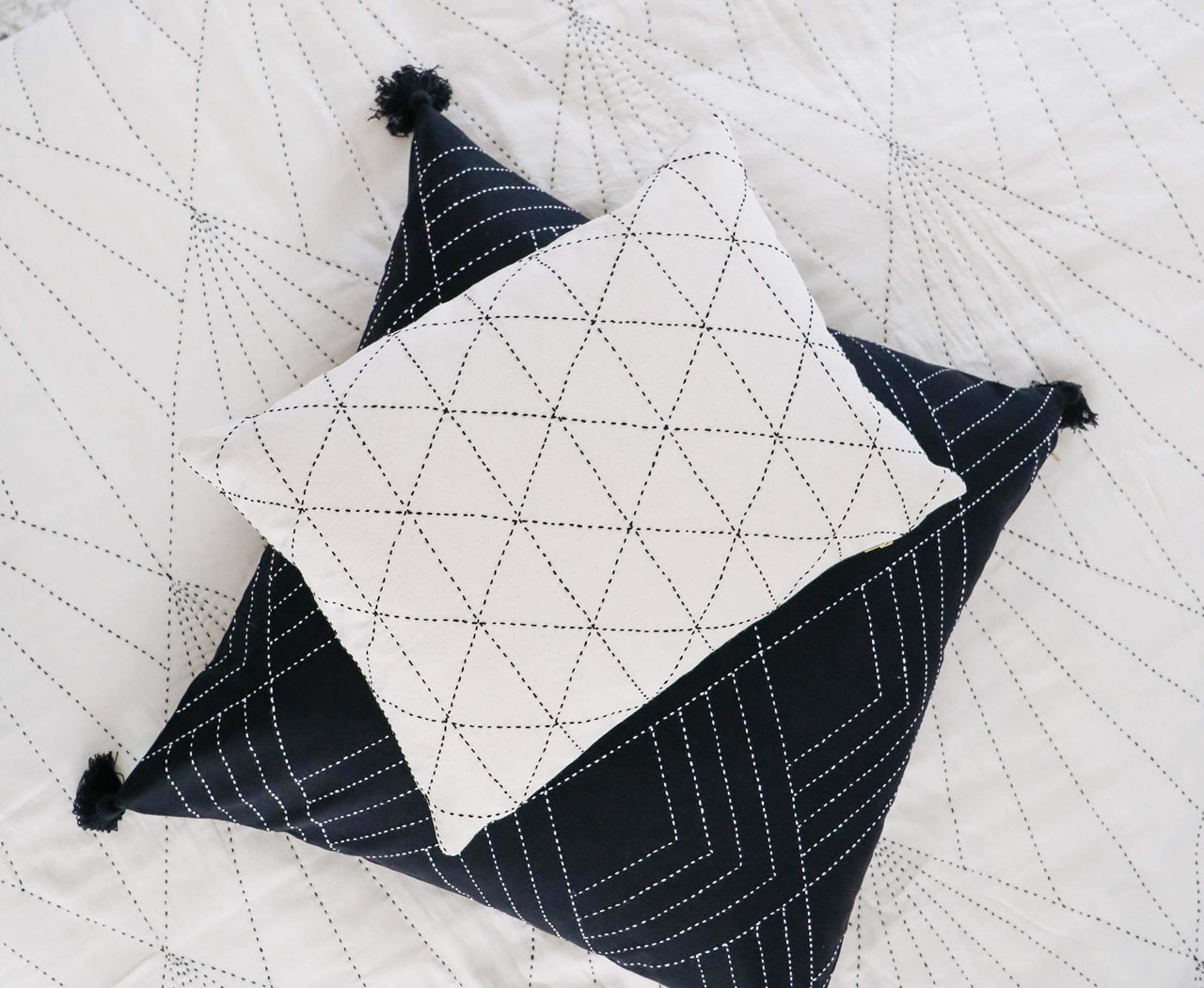 Anchal Project Makes Modern Geometric Textiles While Empowering Women